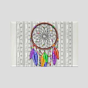 Dreamcatcher Rainbow Feathers s Magnets