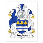 Bringhurst Family Crest Small Poster