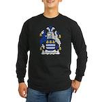 Bringhurst Family Crest Long Sleeve Dark T-Shirt