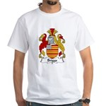 Briggs Family Crest White T-Shirt