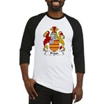 Briggs Family Crest Baseball Jersey