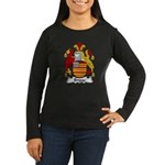 Briggs Family Crest Women's Long Sleeve Dark T-Shi