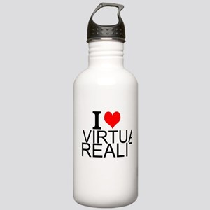 I Love Virtual Reality Water Bottle