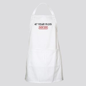 47 YEAR OLDS kick ass BBQ Apron