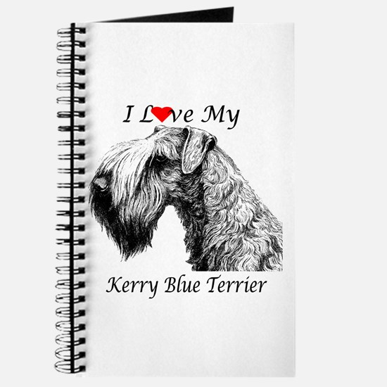 I Love My Kerry Blue-1 Journal