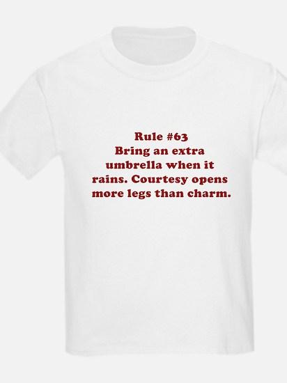 Rule #63 T-Shirt
