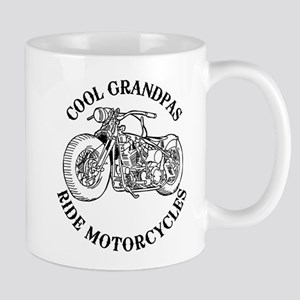 Cool Grandpas Ride Motorcyles 11 oz Ceramic Mug