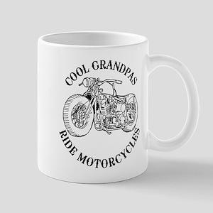 Cool Grandpas Ride Motorcyles 11 oz Ceramic Mug