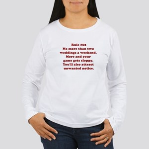 Rule #62 Women's Long Sleeve T-Shirt