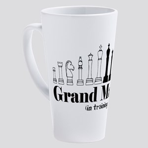 Chess Grand Master 17 oz Latte Mug