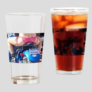 Haulin Ass Drinking Glass
