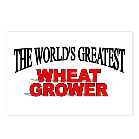 """""""The World's Greatest Wheat Grower"""" Postcards (Pac"""