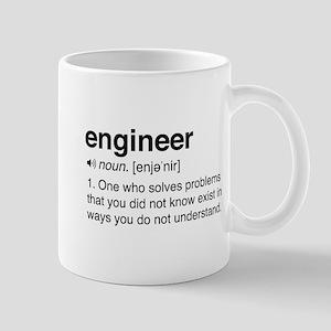 Funny Engineer Definition Mugs