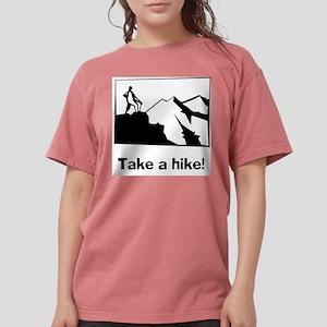 TAKE A HIKE Ash Grey T-Shirt