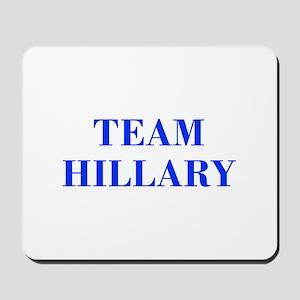 Team Hillary-Bod blue 421 Mousepad