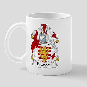 Brandon Family Crest  Mug