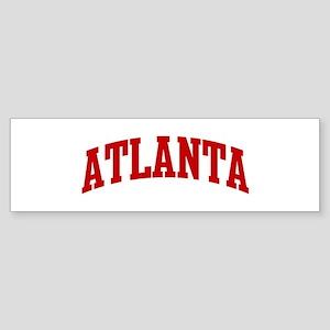 ATLANTA (red) Bumper Sticker