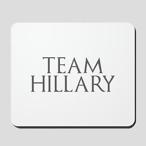 Team Hillary-Gam gray 400 Mousepad
