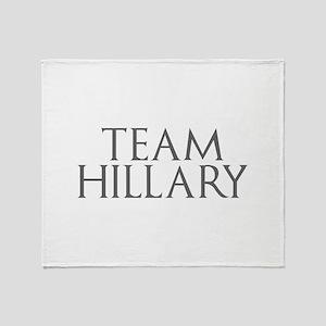 Team Hillary-Gam gray 400 Throw Blanket