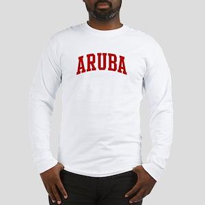 ARUBA (red) Long Sleeve T-Shirt
