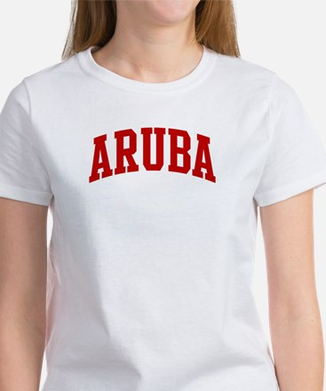 ARUBA (red) Women's T-Shirt