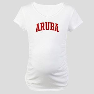 ARUBA (red) Maternity T-Shirt