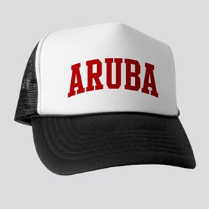 ARUBA (red) Trucker Hat