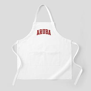 ARUBA (red) BBQ Apron