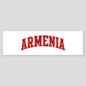 ARMENIA (red) Bumper Sticker