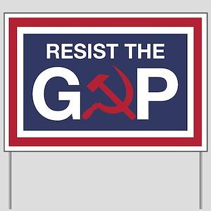 Resist the GOP Yard Sign