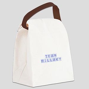 Team Hillary-Kon blue 460 Canvas Lunch Bag