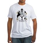 Bradford Family Crest  Fitted T-Shirt