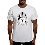 Bradford Family Crest  Light T-Shirt