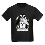 Bradford Family Crest  Kids Dark T-Shirt