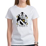 Braddock Family Crest Women's T-Shirt