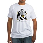Braddock Family Crest  Fitted T-Shirt