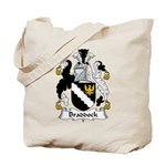 Braddock Family Crest  Tote Bag