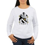 Braddock Family Crest  Women's Long Sleeve T-Shirt
