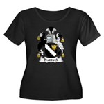 Braddock Family Crest  Women's Plus Size Scoop Nec