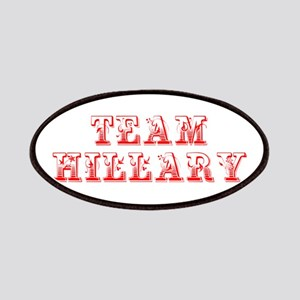 Team Hillary-Max red 400 Patch