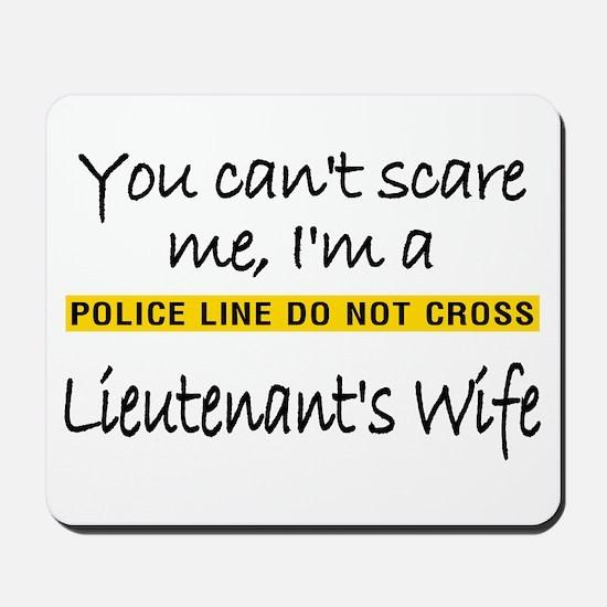 Lieutenant's Wife Mousepad