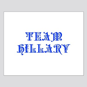 Team Hillary-Pre blue 550 Posters