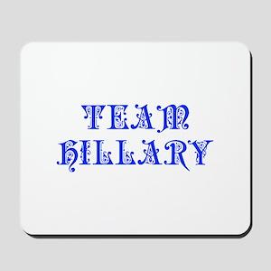 Team Hillary-Pre blue 550 Mousepad