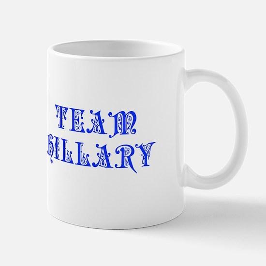 Team Hillary-Pre blue 550 Mugs