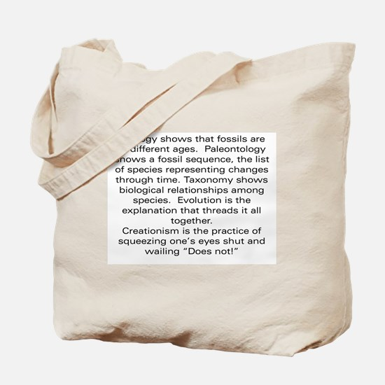 Does Not! Tote Bag
