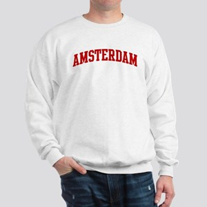 AMSTERDAM (red) Sweatshirt