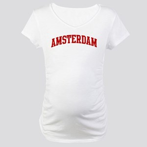 AMSTERDAM (red) Maternity T-Shirt