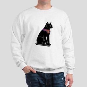 Egyptian Cat Goddess Bastet Sweatshirt