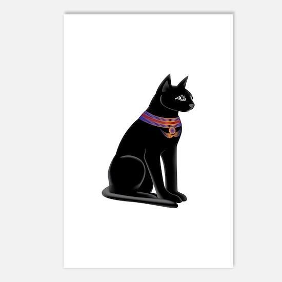 Egyptian Cat Goddess Bastet Postcards (Package of