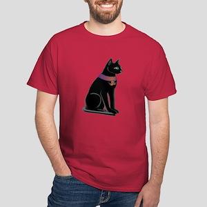 Egyptian Cat Goddess Bastet Dark T-Shirt